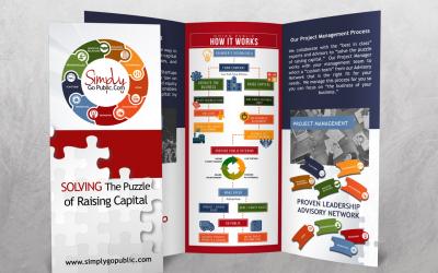 Simply Go Public Brochure Design