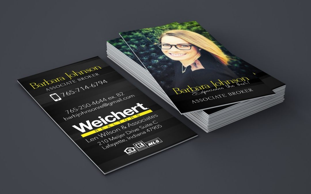 Barb Johnson Business Card Design